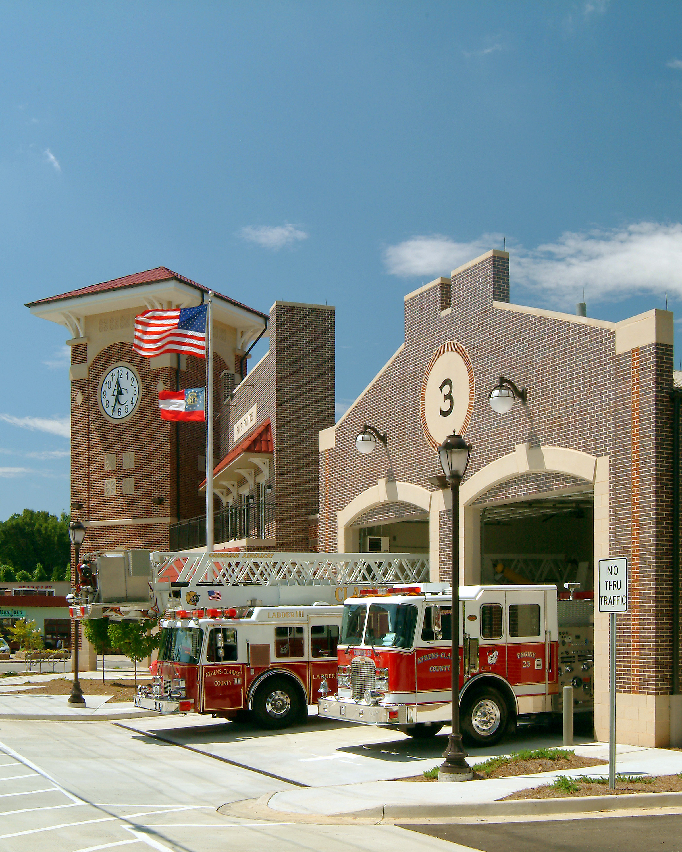 Acc Fire Station 3 Lpbc Atlanta Architecture