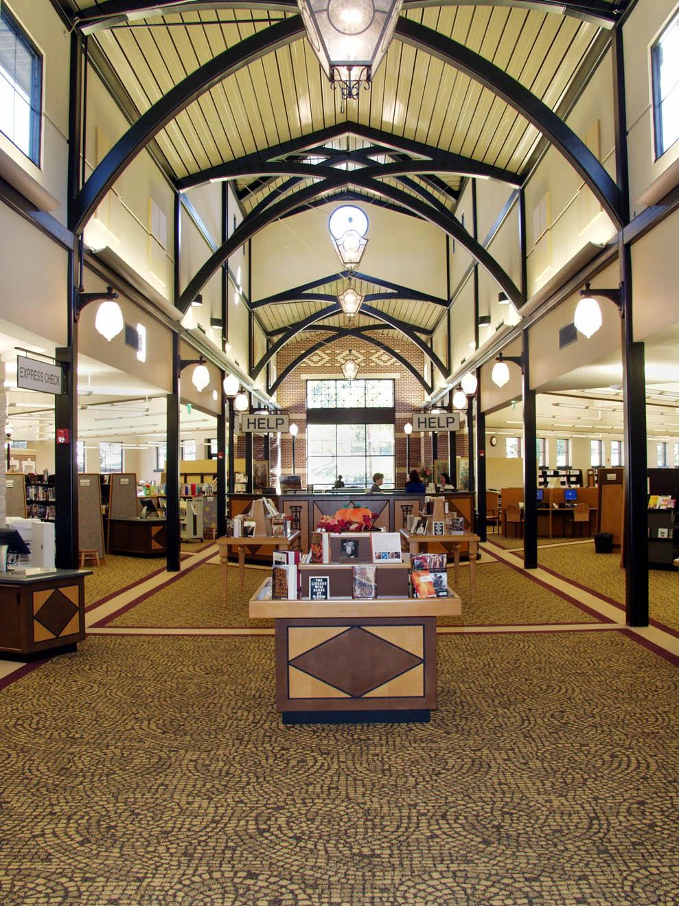 Suwanee Library Lpbc Atlanta Architecture