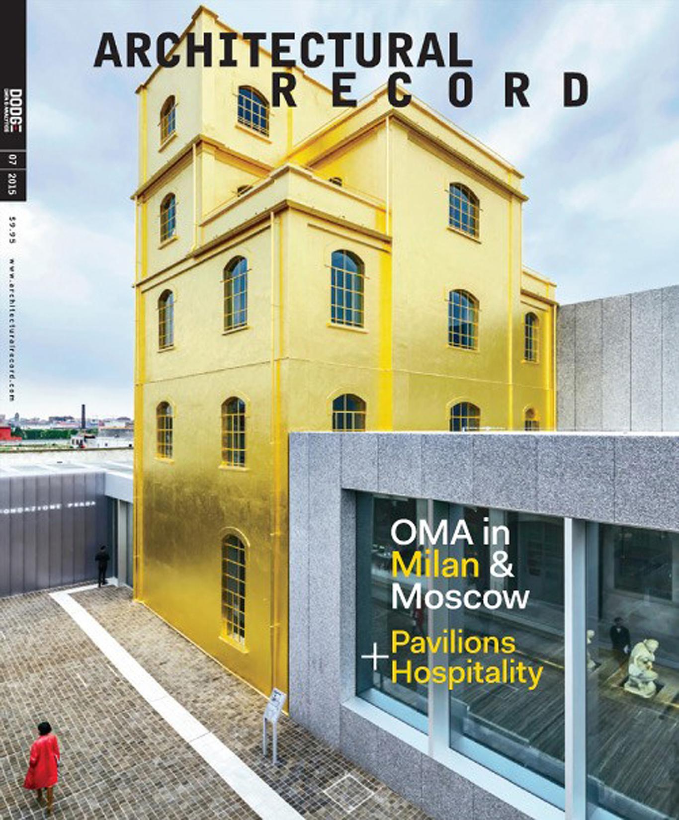 Architectural Record 07-2015