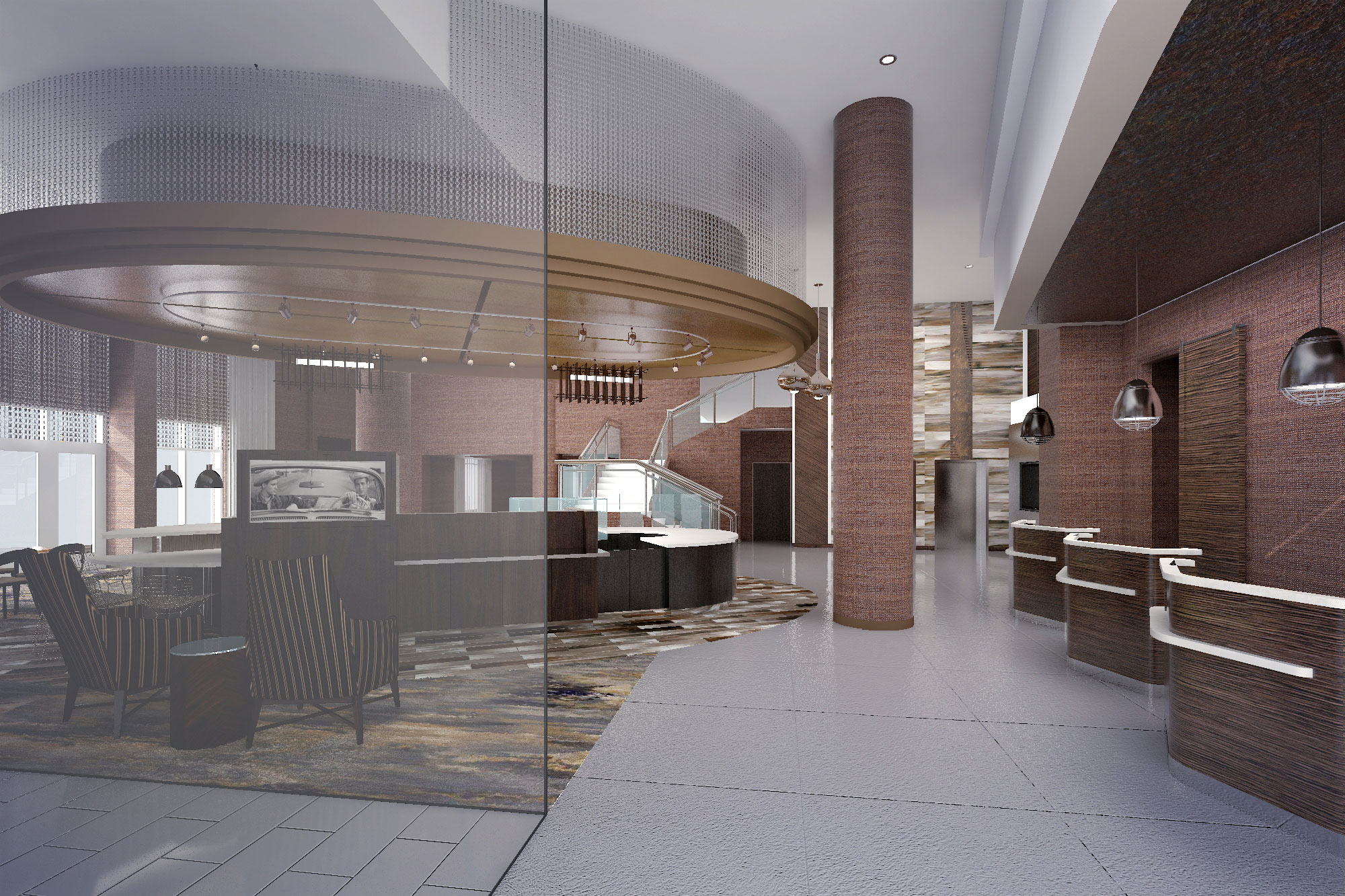 Courtyard By Marriott Lpbc Atlanta Interior Design